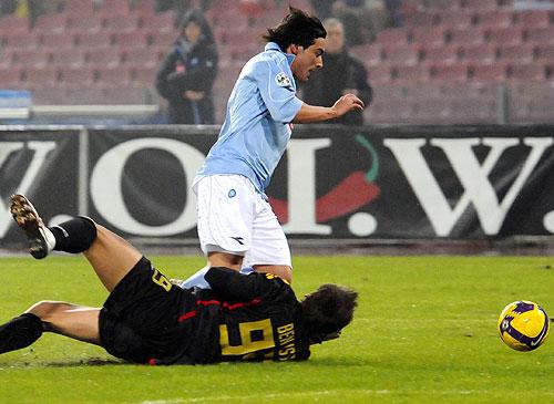 La Lazio sigue escalando posiciones con un Lavezzi cada vez más decisivo