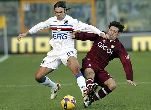 Gran triunfo de la Sampdoria como visitante sobre la Reggina