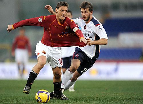 De la mano de Francesco Totti la A.S. Roma sigue ganando