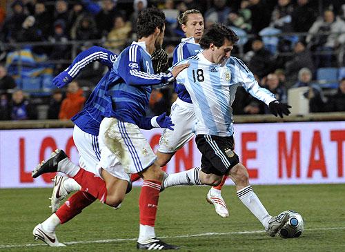 """La """"Pulga"""" jugo un buen partido pero sigue estando lejos de su excelente nivel en la Liga de España"""