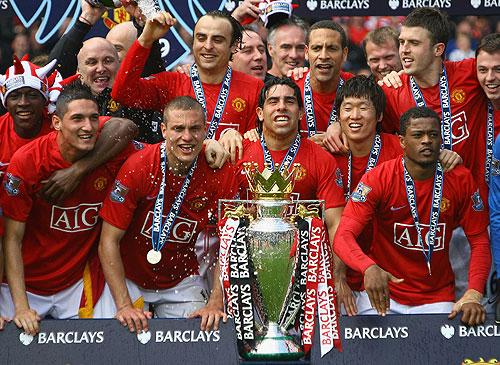 El Manchester United se consagró Tri - campeón en la Liga Inglesa
