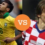 Brasil contra Croacia